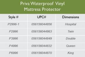 VinylMattressprotector